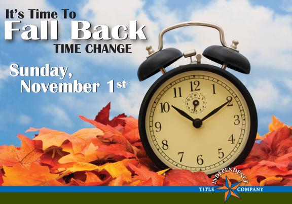 When should you set clocks ahead?